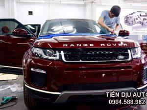 Dán phim cách nhiệt xe Range Rover