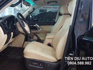 Bọc ghế da xe Toyota Land Cruiser