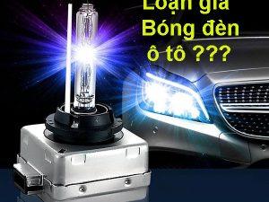 giá bóng đèn ô tô