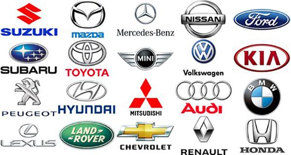 logo các hãng xe hơi trên thế giới