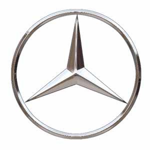 Logo hãng xe Mercedes