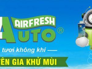 khử mùi ô tô bằng máy khử mùi diệt khuẩn