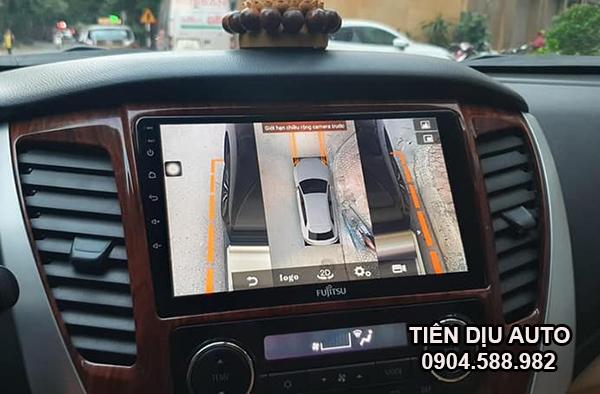 camera 360 độ ô tô liền màn hình