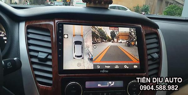 camera 360 độ Sony tích hợp màn hình ô tô