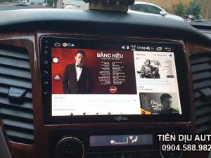 màn hình android ô tô thông minh Fujitsu