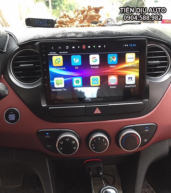 màn hình android cho xe huyndai i10
